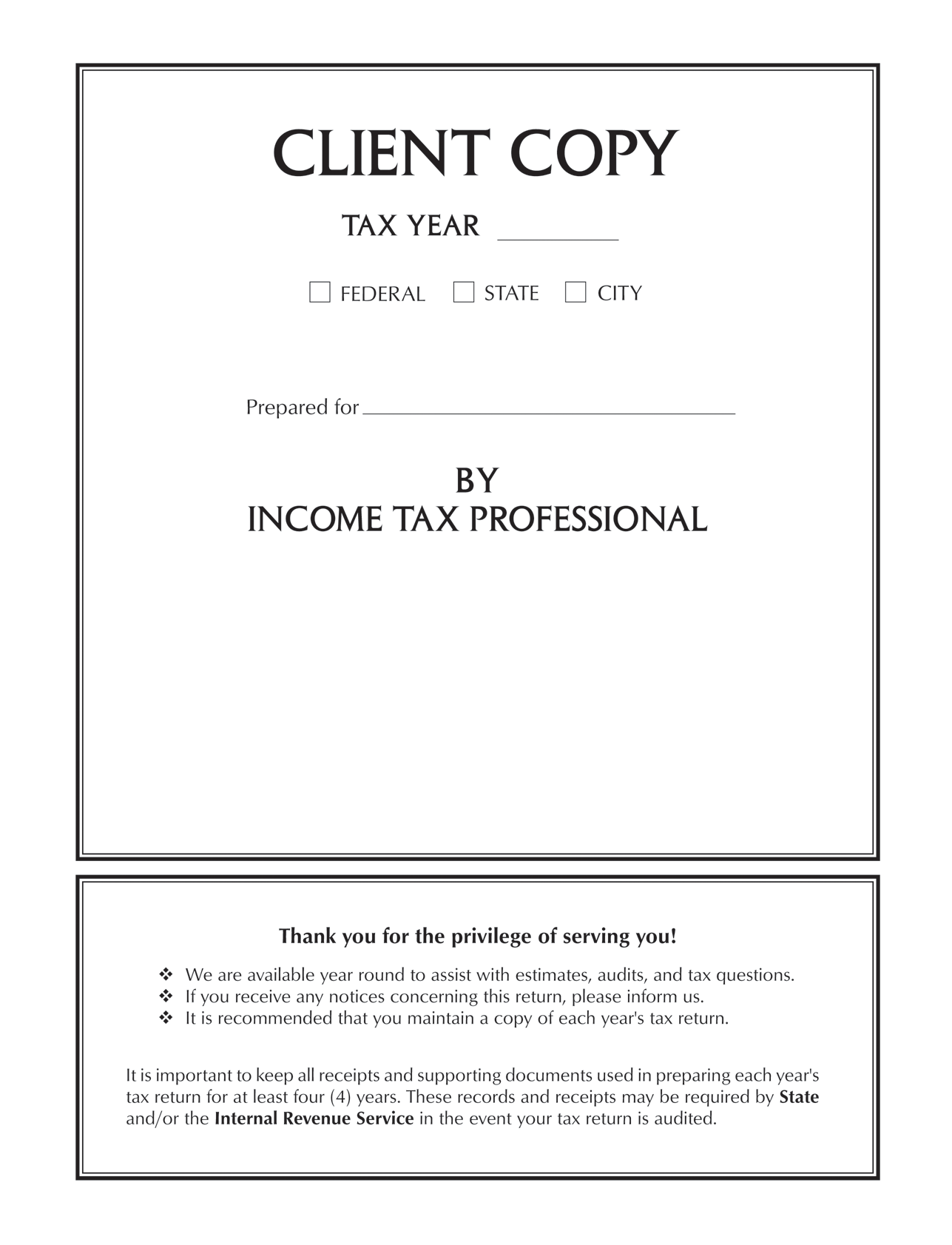 Tax return covers by taxcalcusa click tax cover to enlarge falaconquin