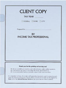 client copy tax cover