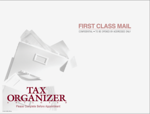 Tax Organizer Envelope click to enlarge