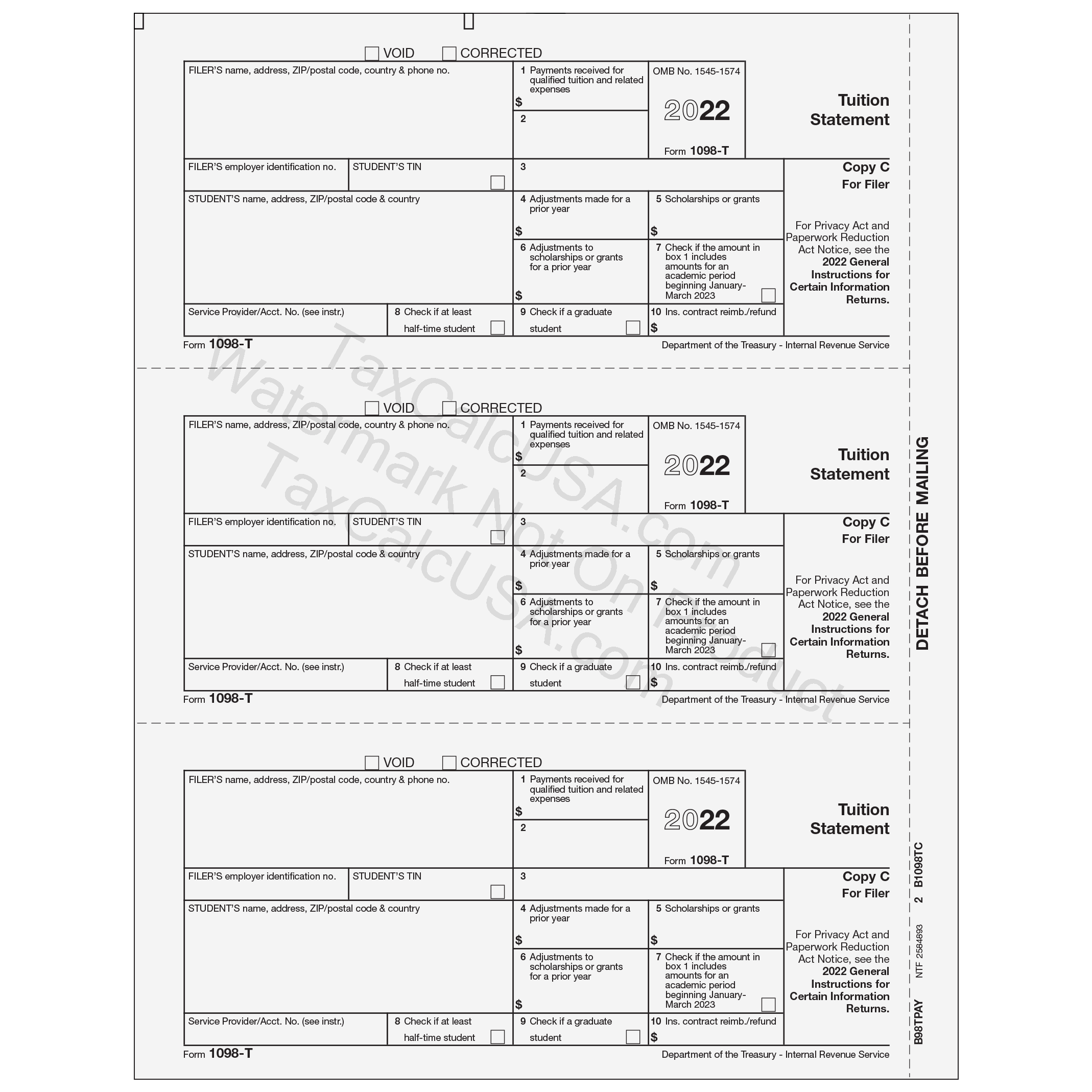 Taxcalcusa 1099 1099 misc tax forms view falaconquin