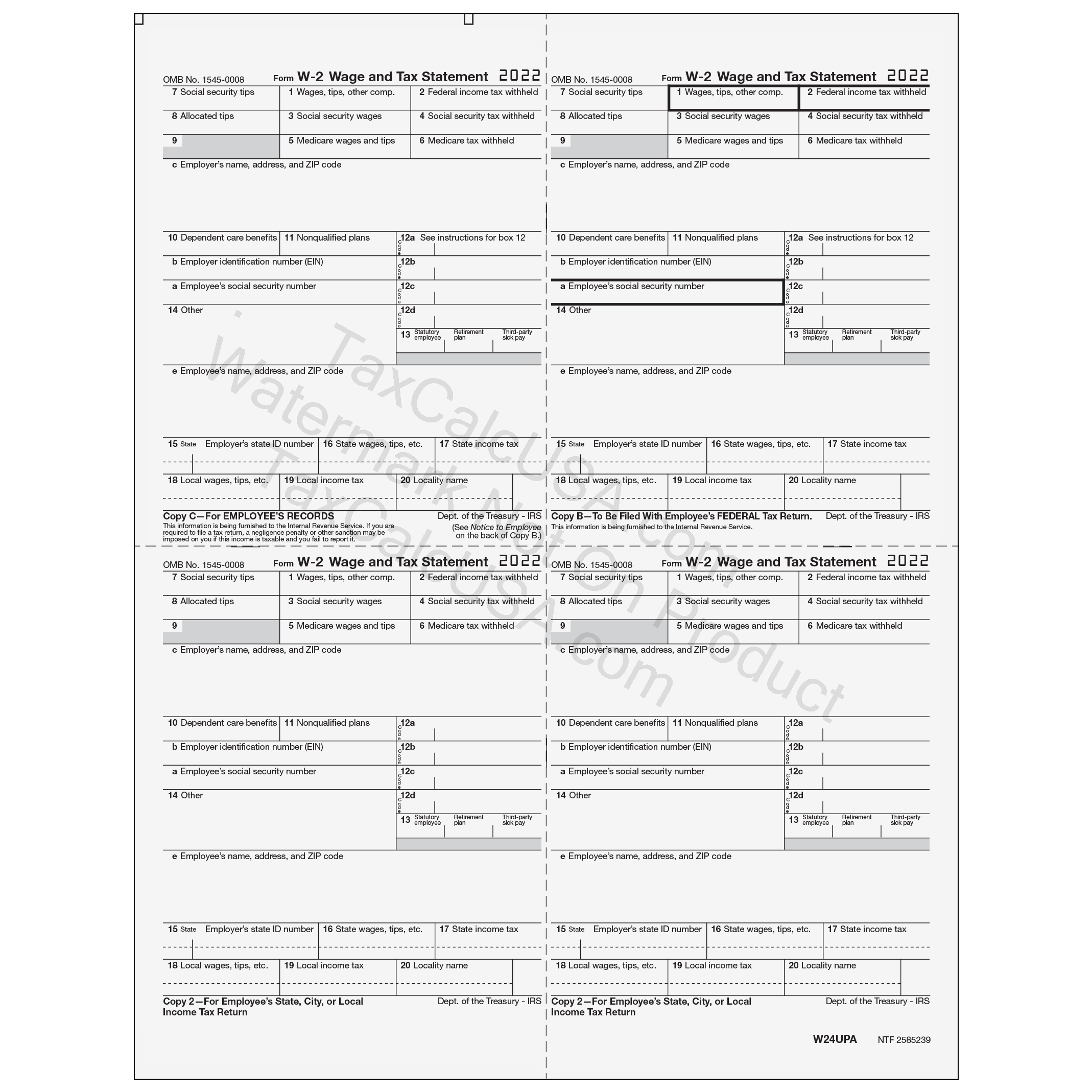 Taxcalcusa w 2 w 2g tax forms view falaconquin